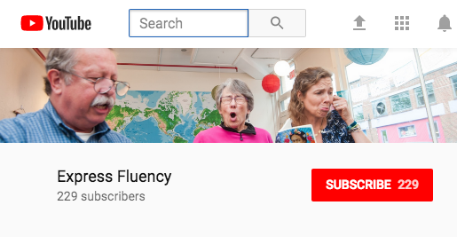 Express Fluency on YouTube